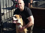 This is Daniel Hennessy, the owner of the dogs shot dead after the incident in Bolton