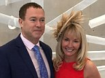 Tragedy: Millionaire Kevin Burke, 56, his wife Ruth, 49, who had two children, both  died in the air disaster in Snowdonia last Wednesday