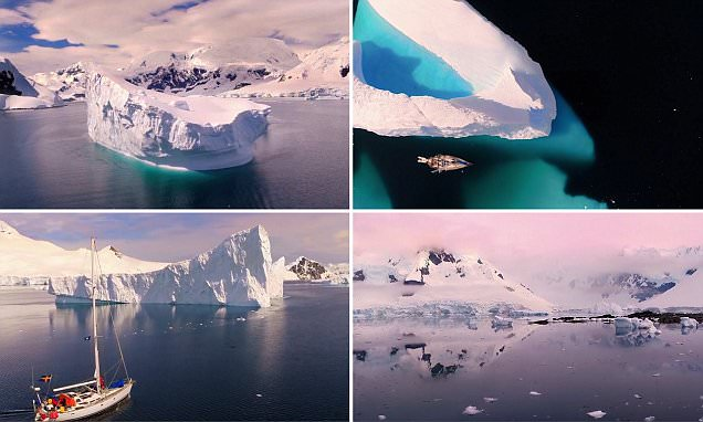 Mesmerising footage reveals the beauty of Antarctica