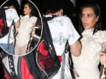 Terrifying moment when Kim Kardashian leaving Mr Chow get punched by attacker april 2, 2017 X17online.com