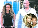 Lady Victoria (left) with Mel B and Stephen - along with Bruno Tonioli of Dancing with the Stars - says she woke up naked next to the pair after a night of drunken sex
