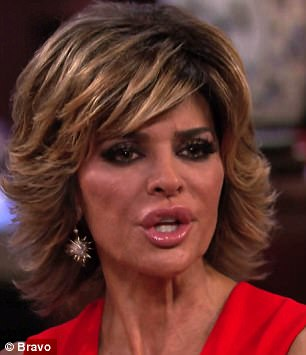 'I think you're a sick woman,' Lisa Rinna goes head to head with Kim Richards who hits back 'I feel the same way about'