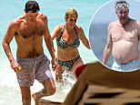 EXCLUSIVE: Jeremy ClarksonÌs ex wife Frances Cain is spotted with a mystery friend while on holiday in Barbados. 04 Apr 2017 Pictured: Frances Clarkson. Photo credit: CHRIS BRANDIS-ISLANDPAPS.COM/ MEGA TheMegaAgency.com +1 888 505 6342