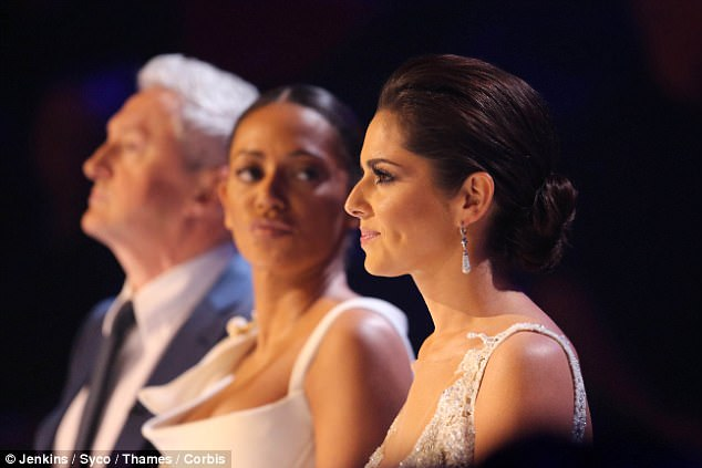 Belafonte was also said to be unhappy with his wife's flirtatious banter with the Girls Aloud star, 33, while they worked as judges alongside Louis Walsh and X Factor boss Simon Cowell in 2014