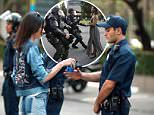 Kendall Jenner did her best to hide from the controversy surrounding her Pepsi commercial on Wednesday when she landed in Paris
