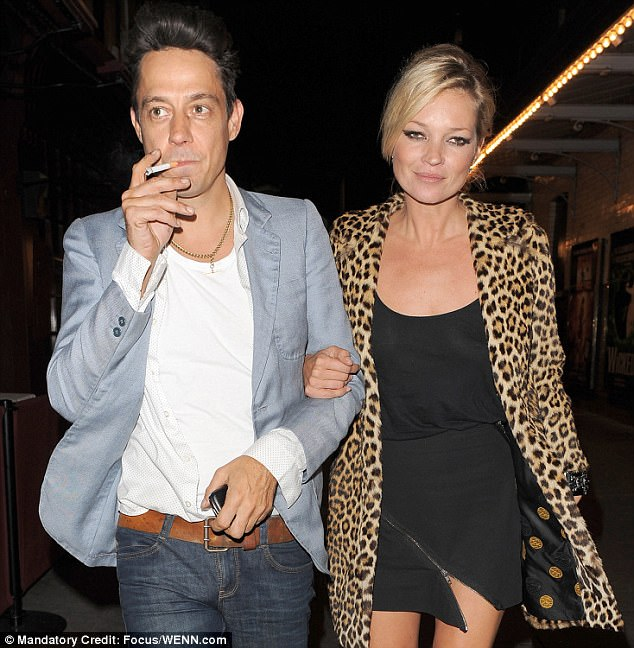 Ex factor: The supermodel married The Kills rocker Jamie Hince in 2011; they split in 2015