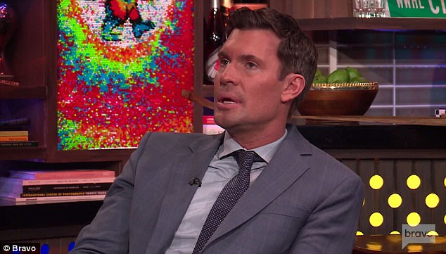 Support system: Jeff Lewis revealed during Watch What Happens Live on Wednesday that Kim Zolciak has been the most supportive since he became a father