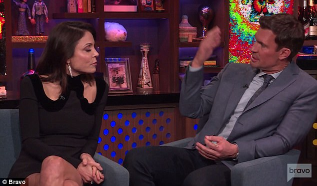 Right thing: Fellow guest Jeff Lewis told Bethenny she did the right thing by Luann