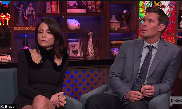 Not invited: Bethenny was not invited to Luann's wedding but Jeff joked she should have been