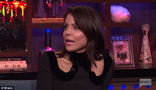 Back track: Bethenny later said that she was genuinely happy for Luann and husband Tom D'Agostino Jr
