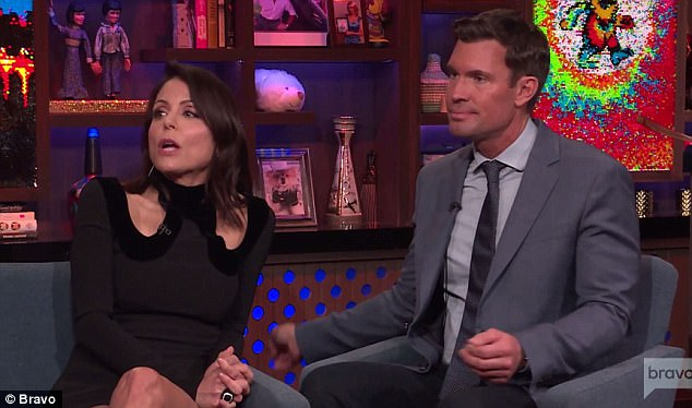 Unusually quiet: A caller asked Bethenny about Ramona Singer's 'new face' and she passed on it