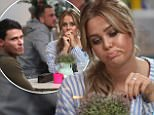 ***Minimum fee £150 for online use***\nEXCLUSIVE ALLROUNDERChloe Meadows and Myles Barnett film a scene for an episode of TOWIE. The pair appeared to be in a heated debate about Myles relationship with his girlfriend, and Chloe's friend, Courtney Green\nFeaturing: Myles Barnett, Chloe Meadows\nWhere: Brentwood, United Kingdom\nWhen: 04 Apr 2017\nCredit: WENN.com