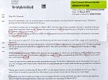 Dorothy Edwards opened a letter from British Gas to find it filled with  more than 30 mistakes