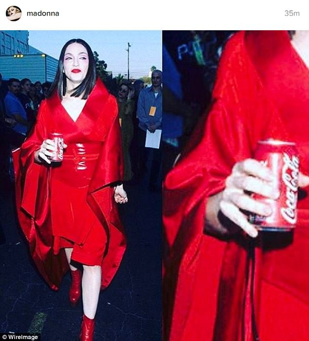 Coke is it! Madonna had a sly Instagram dig at Pepsi after THAT mortifying Kendall Jenner fiasco on Wednesday