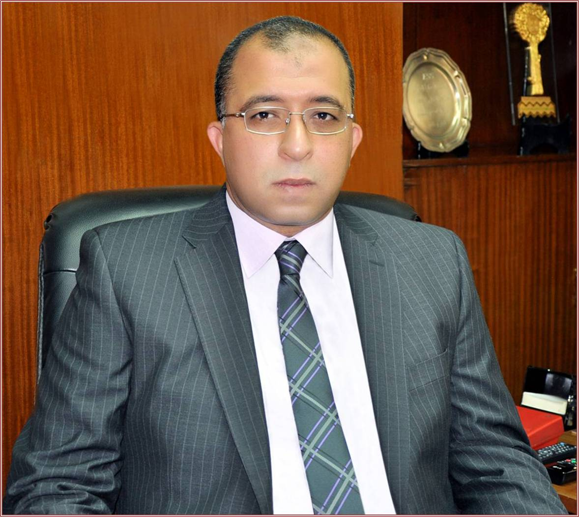 Minister of Planning and Administrative Development Ashraf El-Araby(Photo from Ministry of Planning)