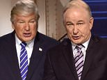 Alec Baldwin has doubled up and set his sights on both Donald Trump and Bill O'Reilly as he impersonated the Fox News host interviewing the President during Saturday Night Live