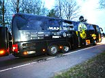 Police in Germany have arrested an 'Islamist' suspect over last night's pipe bomb attack on the Bourissa Dortmund team bus, and say they are investigating another suspect 'from the Islamist spectrum'