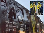 The Borussia Dortmund team coach was hit by three explosions as it left the team hotel