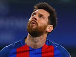 Neymar looks dejected as Barcelona fall to a 3-0 defeat to Juventus in Turin