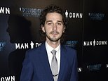 """FILE - This Nov. 30, 2016 file photo shows Shia LaBeouf at the premiere of """"Man Down"""" in Los Angeles. Beginning April 12, 2017, LaBeouf is spending a month isolated in a cabin in Finland's remote Lapland region with his only communication with the outside world coming via text message to visitors to a Helsinki museum. (Photo by Chris Pizzello/Invision/AP, File)"""