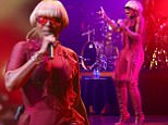 MELBOURNE, AUSTRALIA - APRIL 12:  Mary J. Blige performs at Hamer Hall on April 12, 2017 in Melbourne, Australia.  (Photo by Jack Thomas/Getty Images)