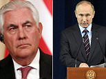 Secretary of State Rex Tillerson is leaving Moscow empty-handed following two hours of frosty talks with Russian President Vladimir Putin