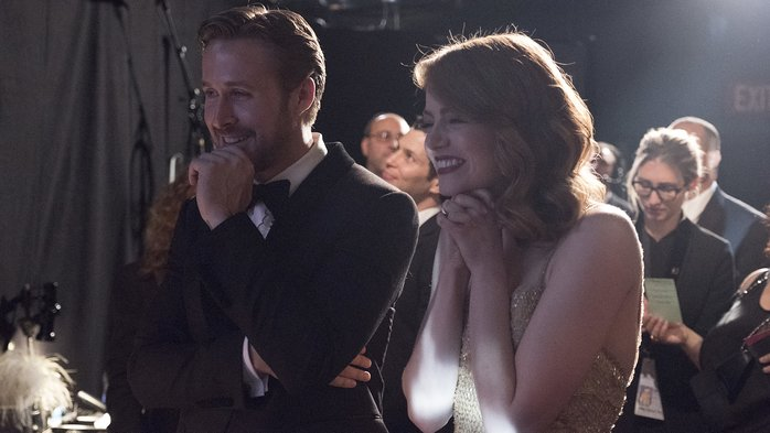 Ryan Gosling and Emma Stone at an event for The 89th Annual Academy Awards (2017)