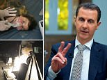 Assad branded claims his regime carried out a sarin gas attack on his own population '100 per cent fabrication'