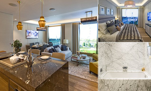 Would you pay £20m for this three-bed flat in London?