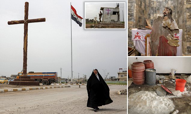 Iraqi Christians return to town ransacked by ISIS