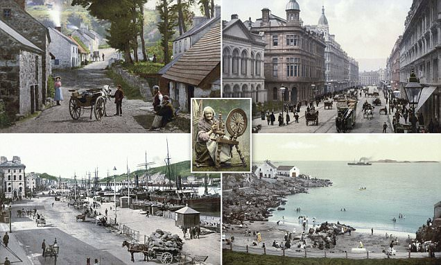Postcards from the 1890s reveal Ireland's enduring beauty