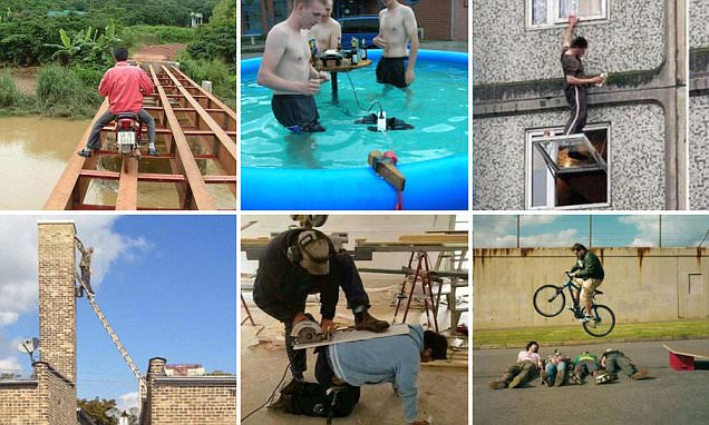 Comical photos reveal why women live longer