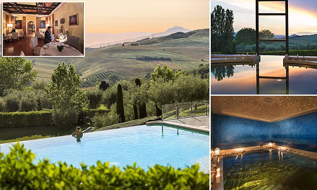 A spa escape at a Tuscan hotel with its own thermal waters