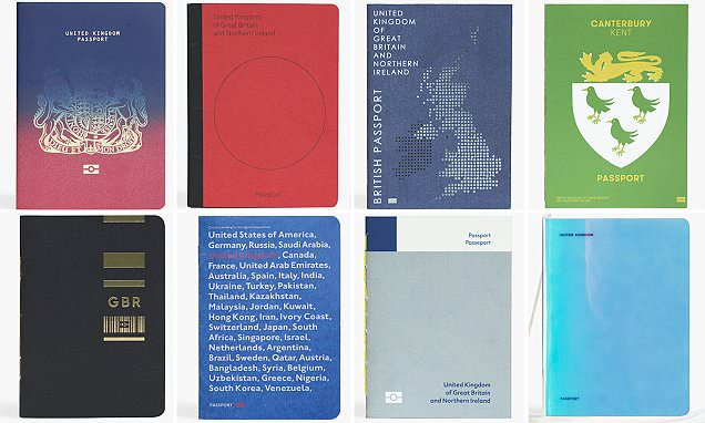 Do these Brexit passports win your stamp of approval?