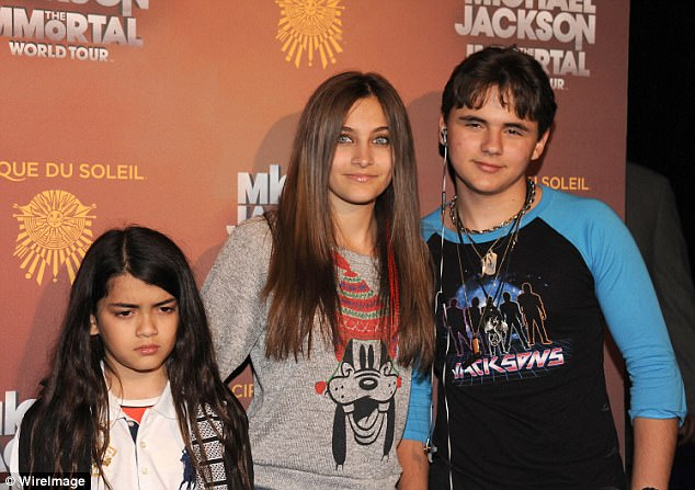 Suspicious:Paris believes aunt Rebbie Jackson, 66, has been keeping Katherine away from herself, Blanket, and older brother Prince, 20; (pictured 2012)