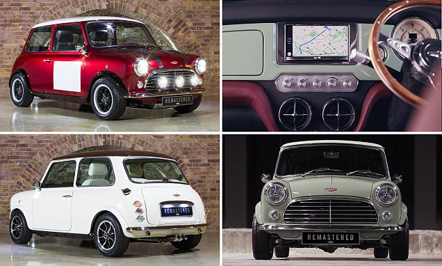 Mini Remastered creates new classic shape cars for £75k