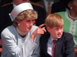 Prince Harry has admitted he sought counselling as he struggled to come to terms with his mother Diana's death