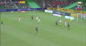 Perth Glory moved into third spot on the ladder after downing Western Sydney Wanderers 2-0 at nib Stadium on Saturday night.