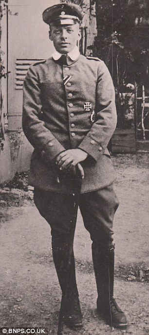 Chivalry: German Ace Oswald Boelke risked his life to deliver the letter of the man he shot down