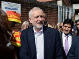 Jeremy Corbyn put on a brave face as he met supporters in Birmingham, but two of his MPs have already said they will not stand at the snap election called by Theresa May today