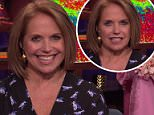 Smile:Katie Couric was asked to comment on the alleged drama at Today following the departure of Tamron Hall and hiring of Megyn Kelly