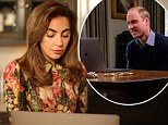 """Undated handout photo issued by the Heads Together campaign of Lady Gaga speaking to the Duke of Cambridge via FaceTime, as the Duke called for an end to the """"stiff upper lip"""" culture, saying he wants Prince George and Princess Charlotte to be able to talk about their emotions. PRESS ASSOCIATION Photo. Issue date: Tuesday April 18, 2017. It comes after Prime Minister Theresa May praised his brother Prince Harry for his bravery in revealing he sought counselling to come to terms with the death of his mother Diana, Princess of Wales. See PA story ROYAL Diana. Photo credit should read: Heads Together campaign/PA Wire\nNOTE TO EDITORS: This handout photo may only be used in for editorial reporting purposes for the contemporaneous illustration of events, things or the people in the image or facts mentioned in the caption. Reuse of the picture may require further permission from the copyright holder."""