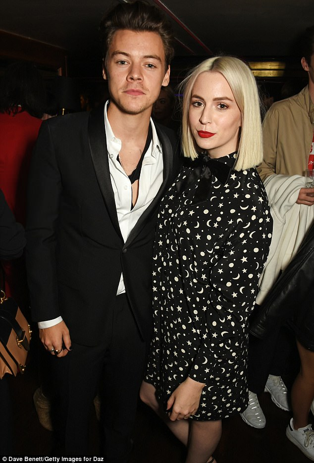 Sibling love! Anne commended both Harry and Gemma (pictured in Primrose Hill on September 15, 2013) for looking after her ill dad over the years