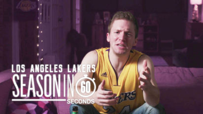 Los Angeles Lakers Fans' Season in 60 Seconds