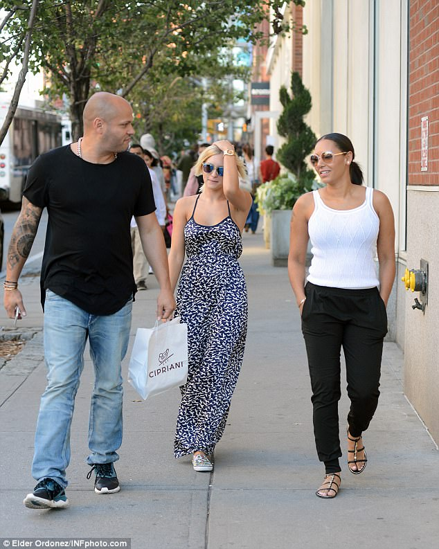 Explosive claims: Mel B said that Belafonte threatened to release their sex tapes unless she rehired the nanny with a raise