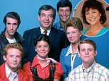 Moran was just 14 when she signed on to play Joanie, the feisty little sister of Richie Cunningham on the show