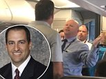Tony Fierro has been identified as the man who stood up for a weeping mother after she was allegedly assaulted by an American Airlines employee on board a plane on Friday