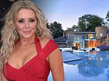 Pretty: Carol Vorderman's magnificent countryside mansion had an extensive refurbishment and is up for sale for £2.5million
