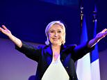 French far-right presidential hopeful Marine Le Pen has announced that she is temporarily stepping down as her party's leader in a bid to focus on the presidential election on May 7