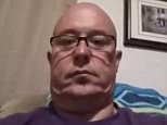James M. Jeffrey (above), 49, began streaming himself live on Facebook Tuesday when he suddenly took his gun and shot himself in the head